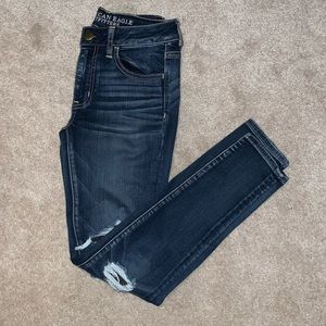 Dark blue American Eagle jeans